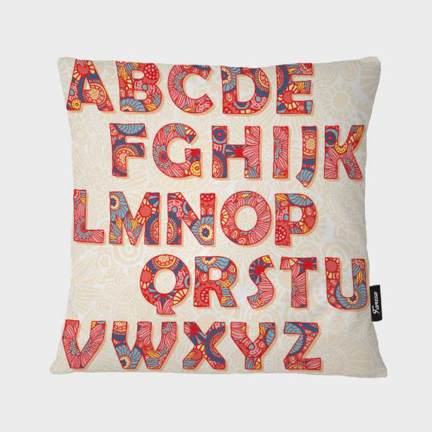 """Picture of Letter Pillow 16"""" x16"""""""