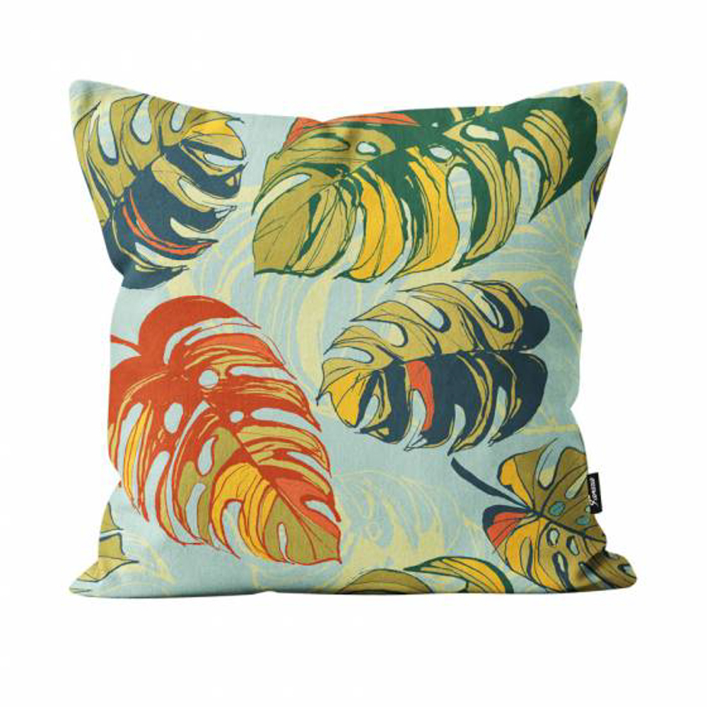 "Picture of Leaves Pillow 16"" x16"""