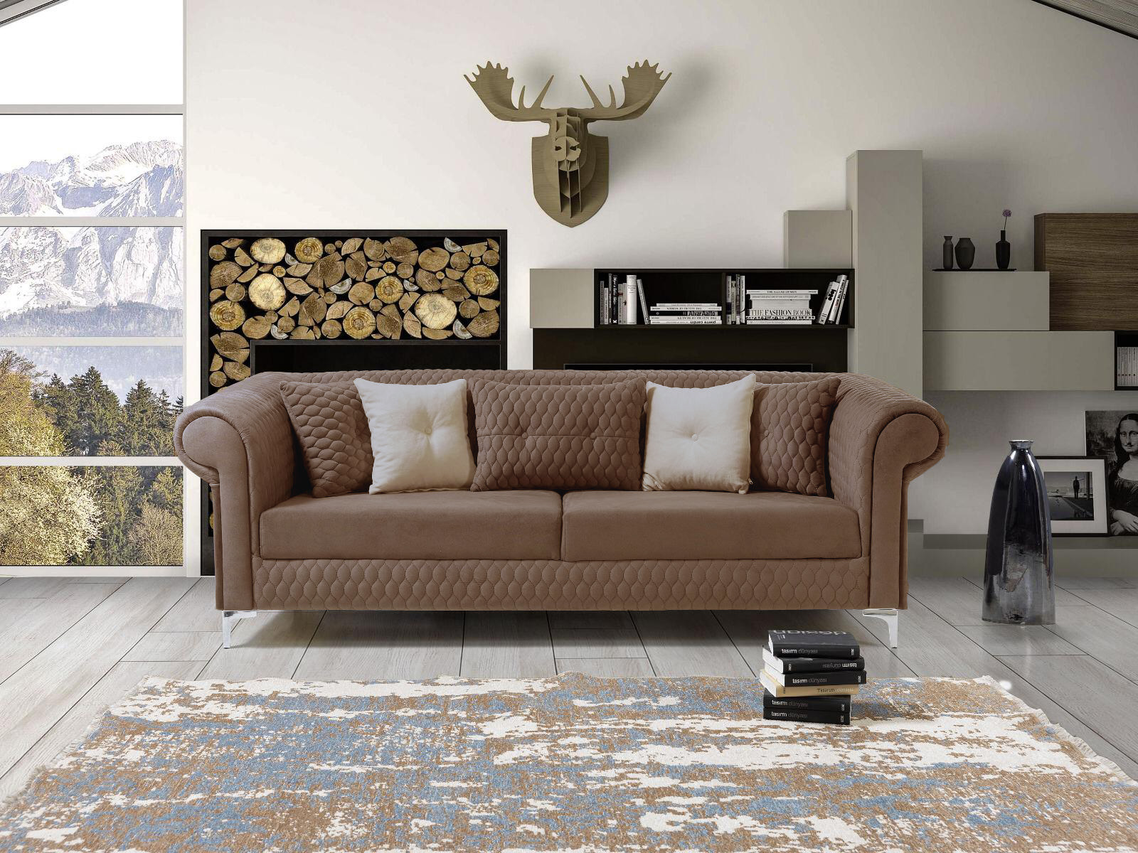 Picture of CNC Sofa Set