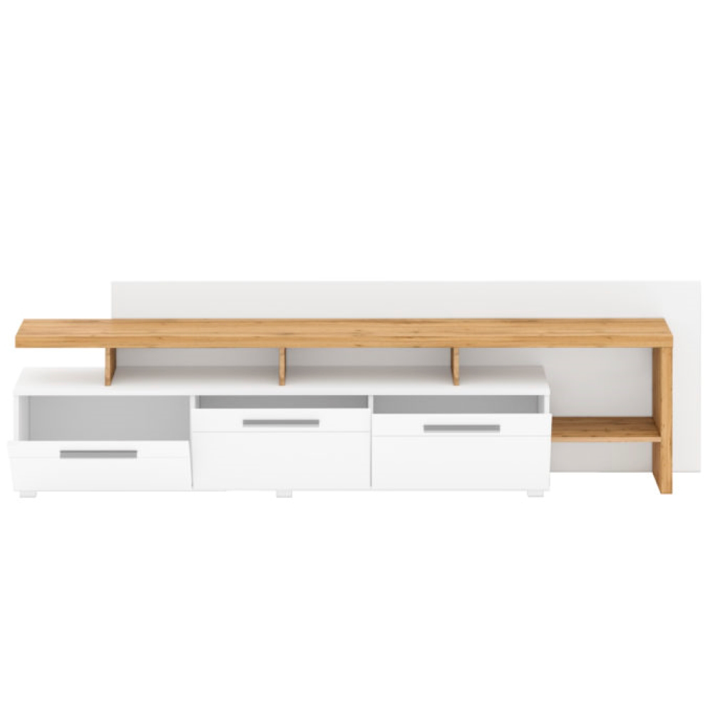 Picture of HELEN BC TV Stand with White Panel