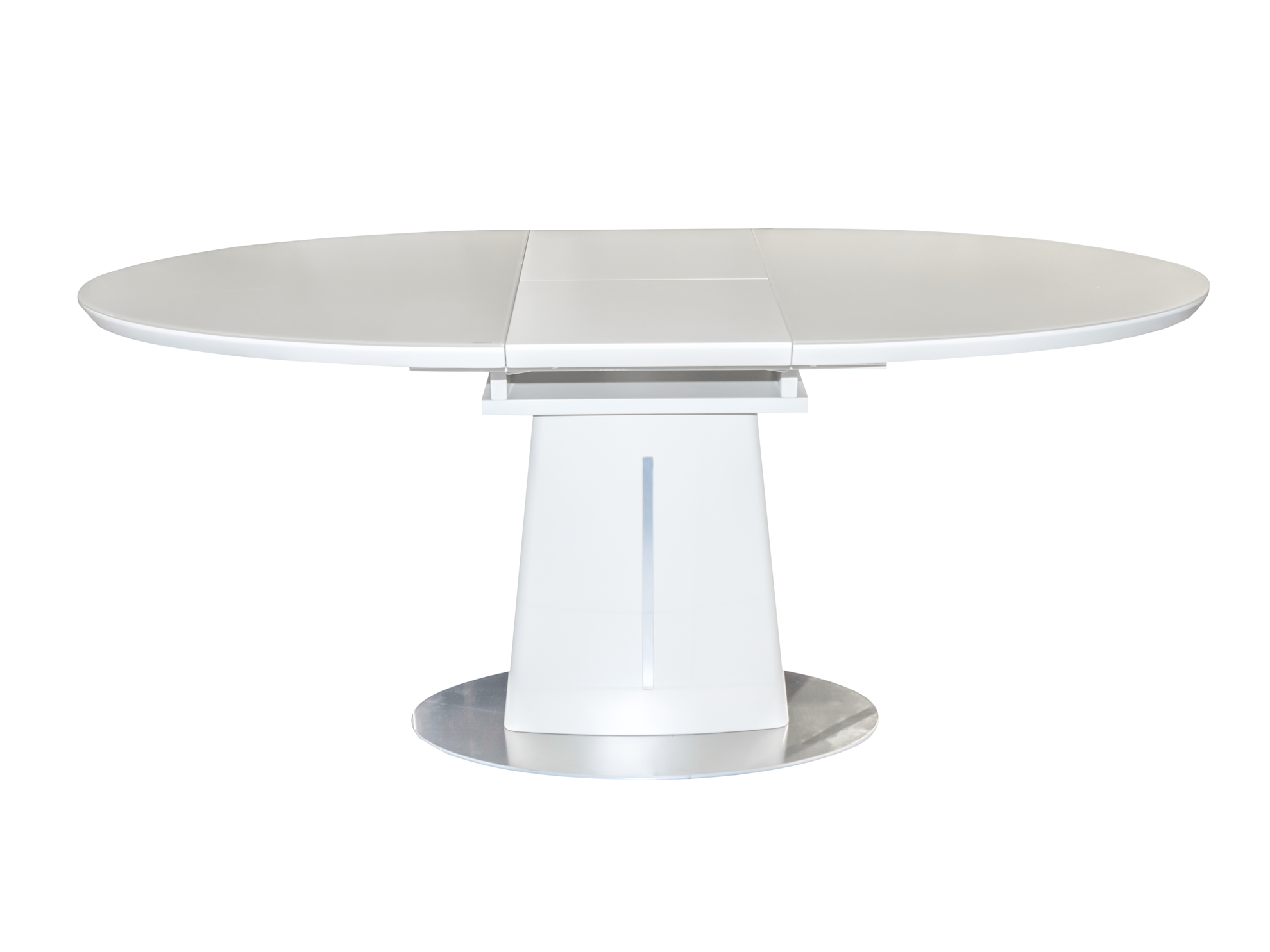 Picture of Eva Glass Top Extendable Dining Table