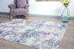 Picture of Lowen Silver-Blue Area Rug 8x10ft