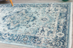 Picture of Bodrum Blue/Ivory Area Rug 8x10ft