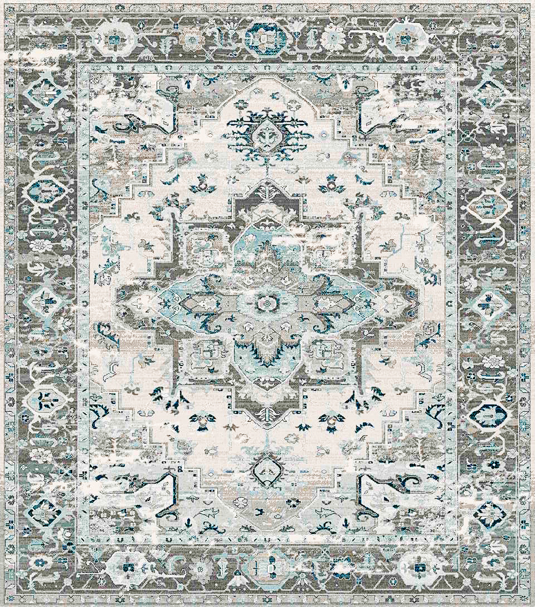 Picture of Bodrum brown/Ivory Area Rug 5x7ft