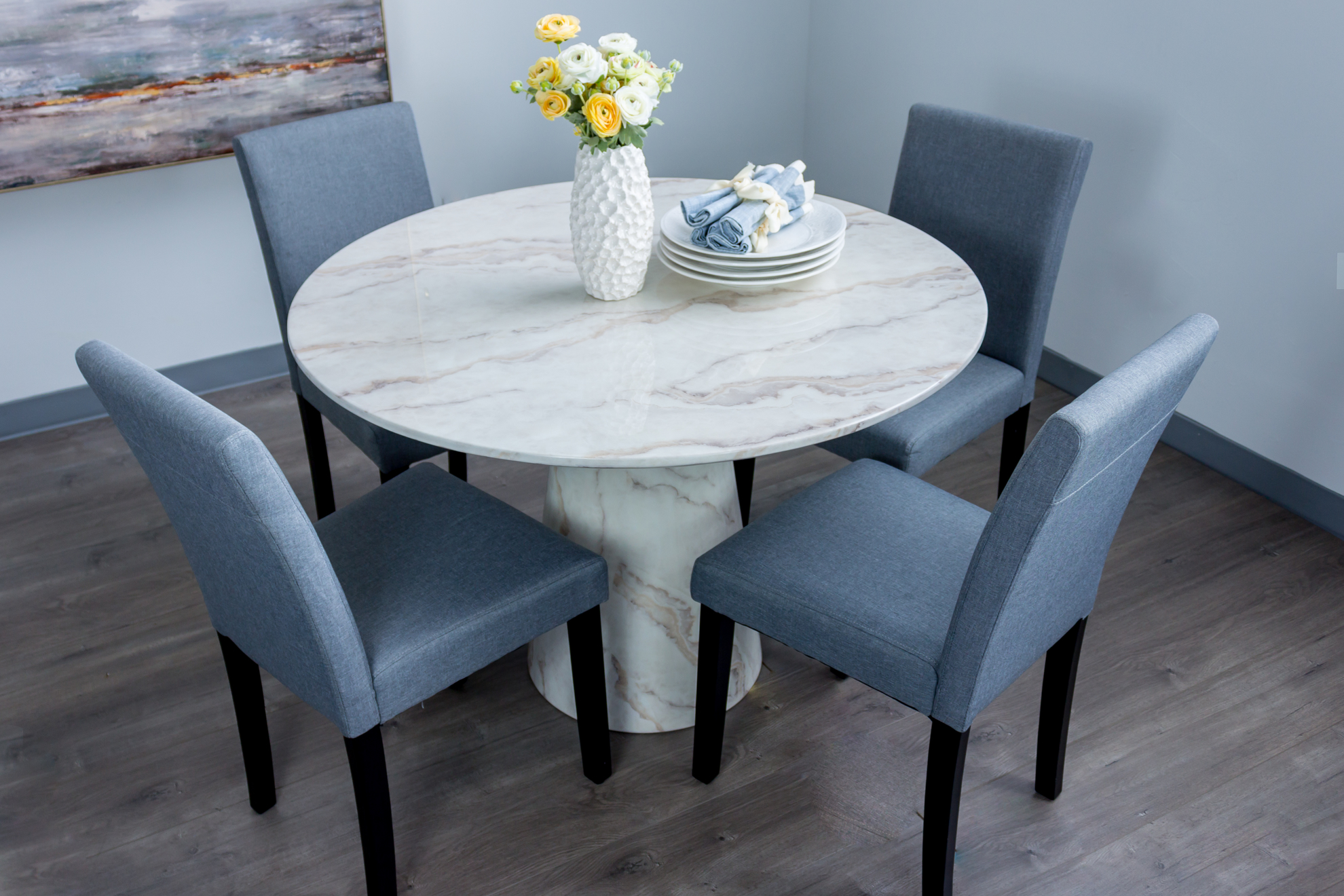 Picture of Parma Marble Dining Table