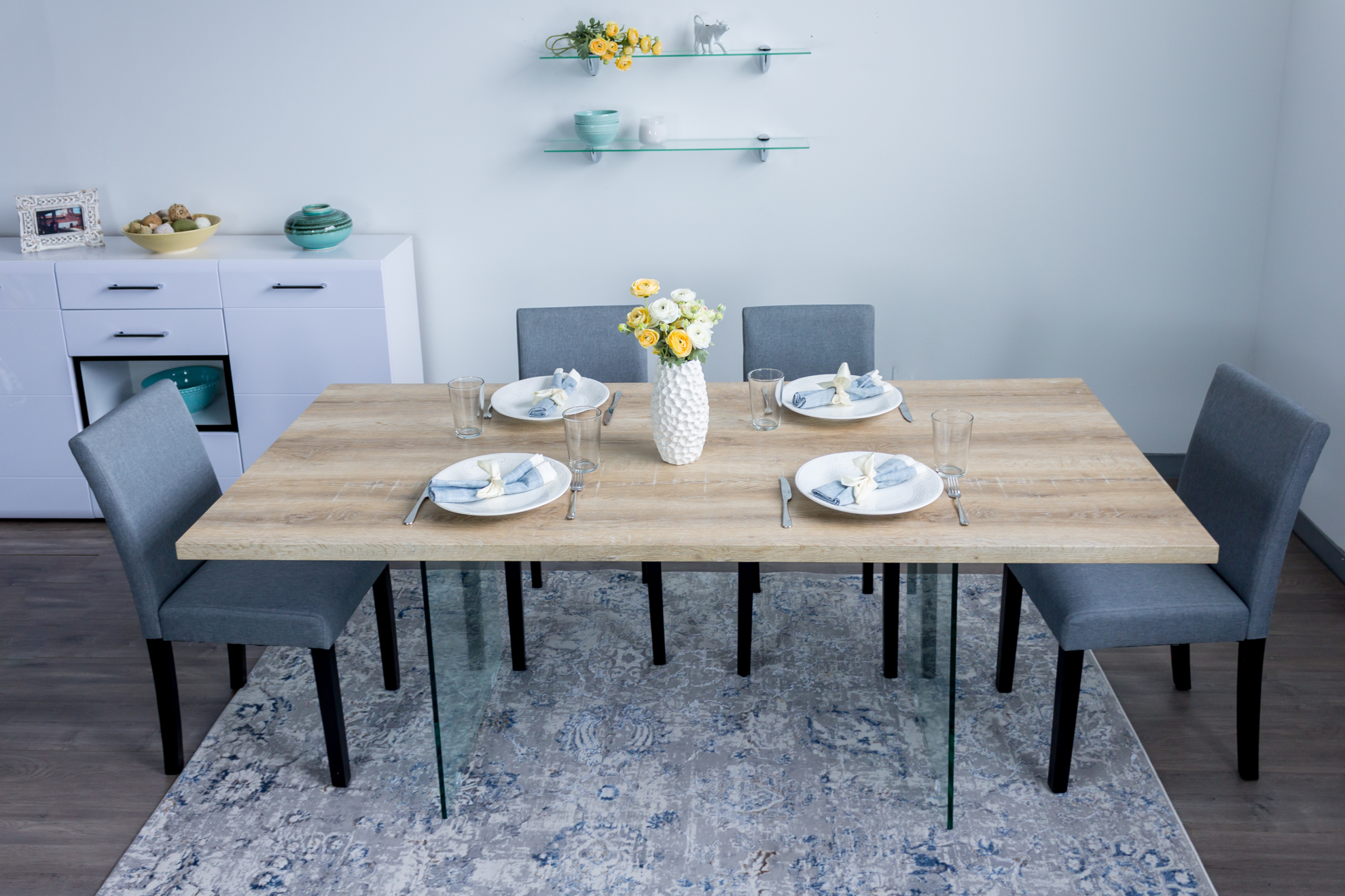 Picture of Montana Solid Wood Dining Table