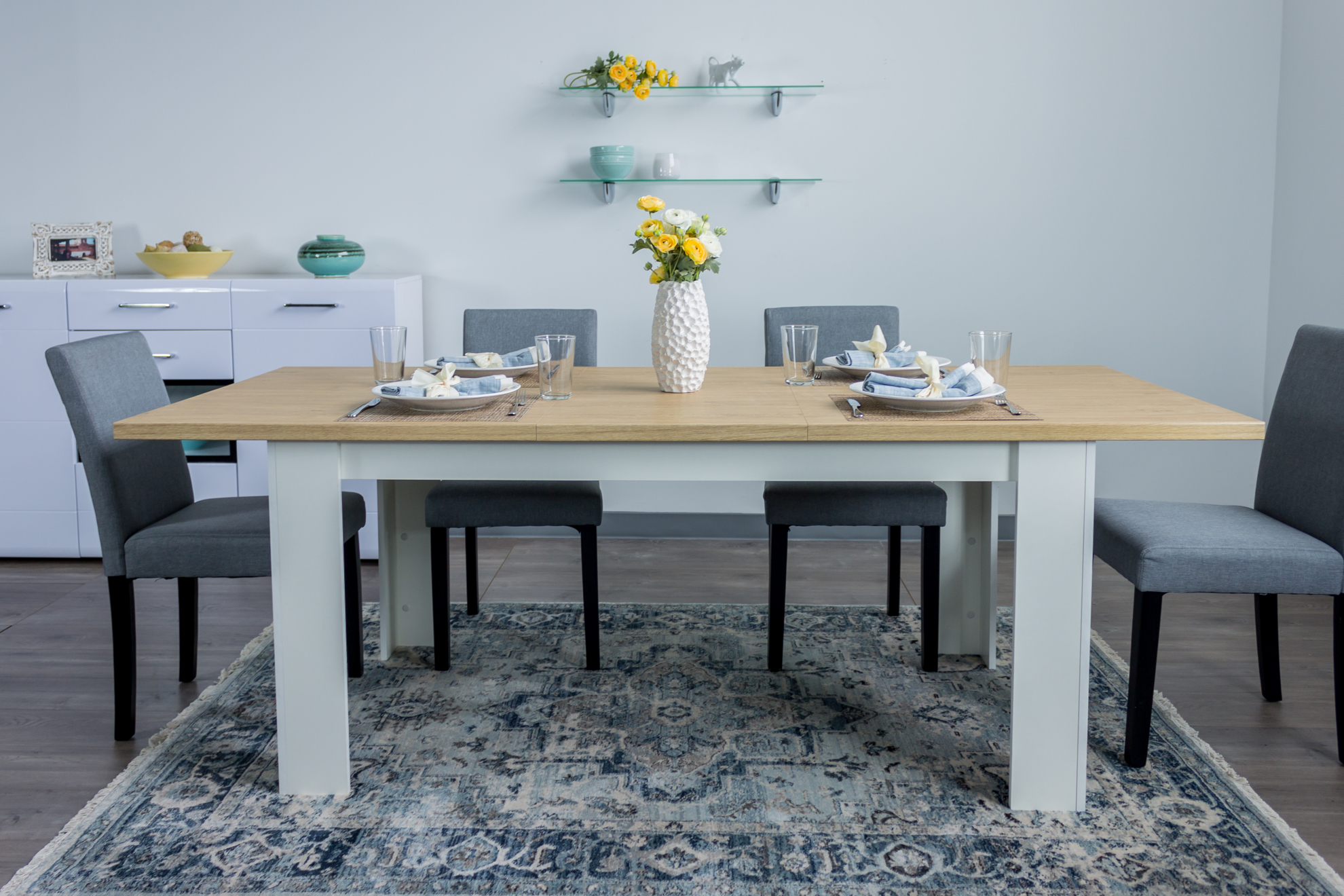 Picture of Extendable Dining Table Verne
