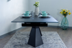 Picture of Orlean Glass Top Extendable Dining Table