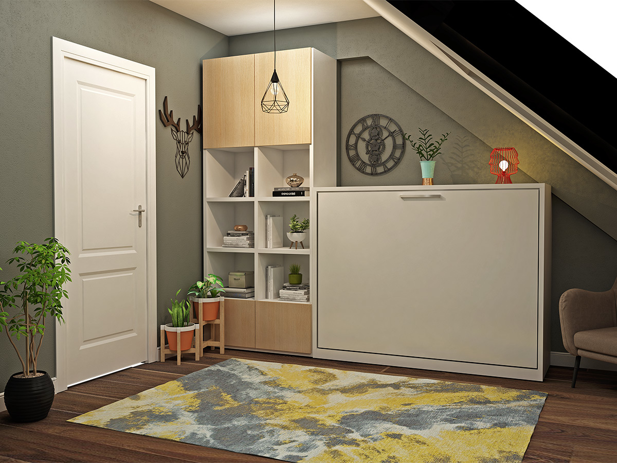 Picture of Capsule Double Fold Queen Murphy Bed